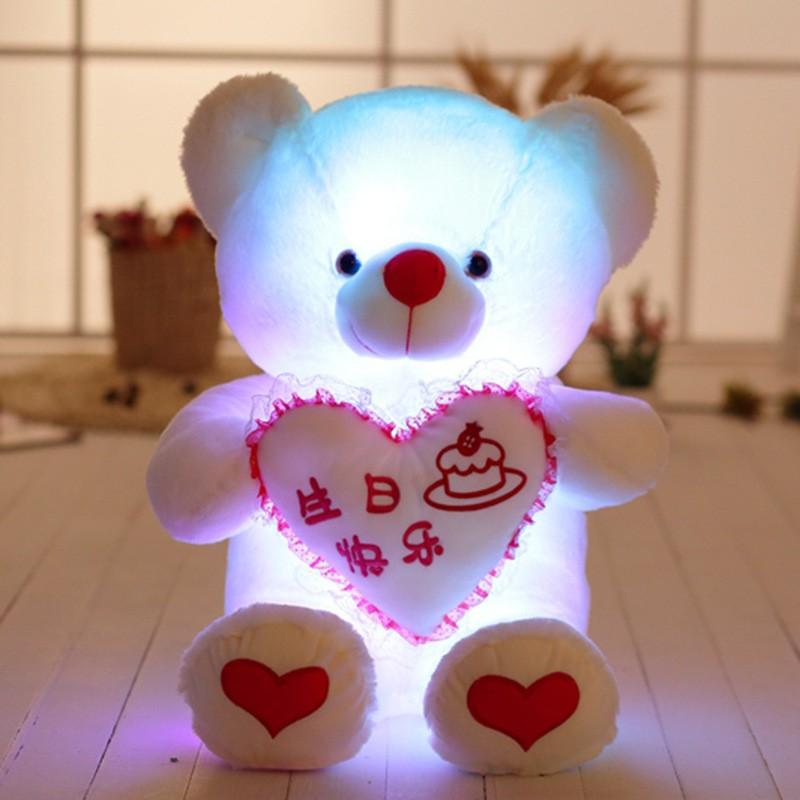 gấu bông phát sáng có nhạc