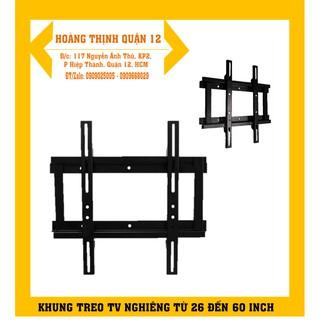 Khung treo tivi 32 – 37 inch cố định sát tường