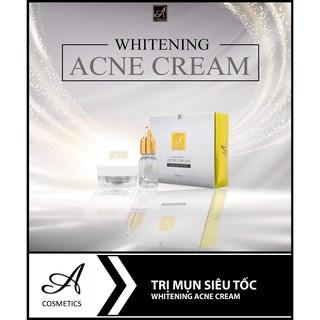 Kem Trị Mụn ACosmetics 25g (Whitening Acne Cream A Cosmetics) Mỹ Phẩm Phương Anh ACosmetic