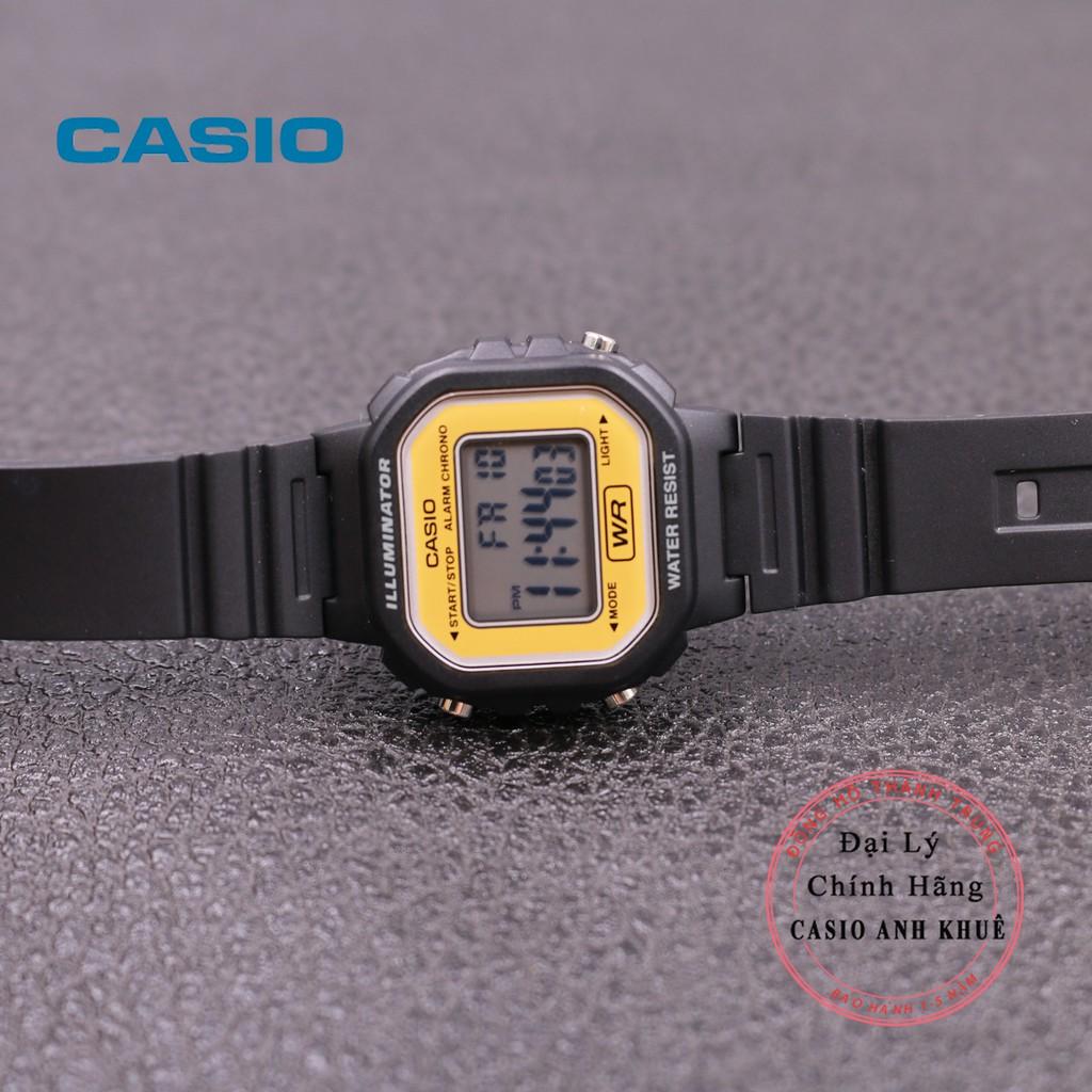 Đồng hồ điện tử nữ Casio LA-20WH-9ADF dây nhựa