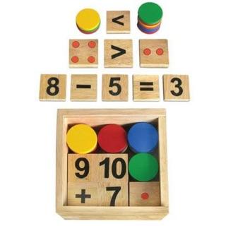 Bộ học toán- đồ chơi gỗ