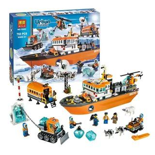 Lego Urban Hạm Đội Tàu Phá Băng Vùng Bắc Cực Mẫu Bela 10443 DCF0017