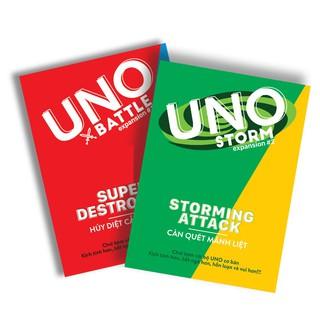 Combo thẻ Bài Uno Đại Chiến Mở Rộng – Uno Expansion & Uno Storm