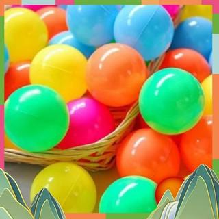 Túi 100 quả bóng nhựa cho bé vui chơi Cao Cấp