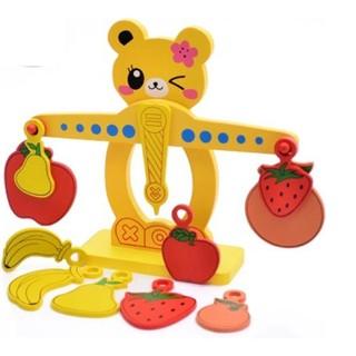 Đồ chơi cân gỗ thăng bằng đáng yêu cho bé