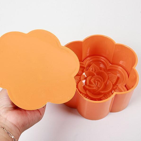 Khuôn xôi hình hoa hồng Song Long