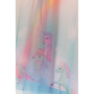 Váy voan họa tiết pony - RABBITSHOP