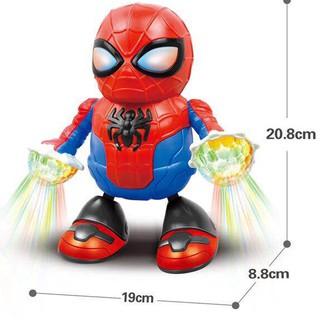 Robot Avengers Spiderman Dancing – Đồ Chơi Người Nhện Nhảy Múa (RB1819-15)