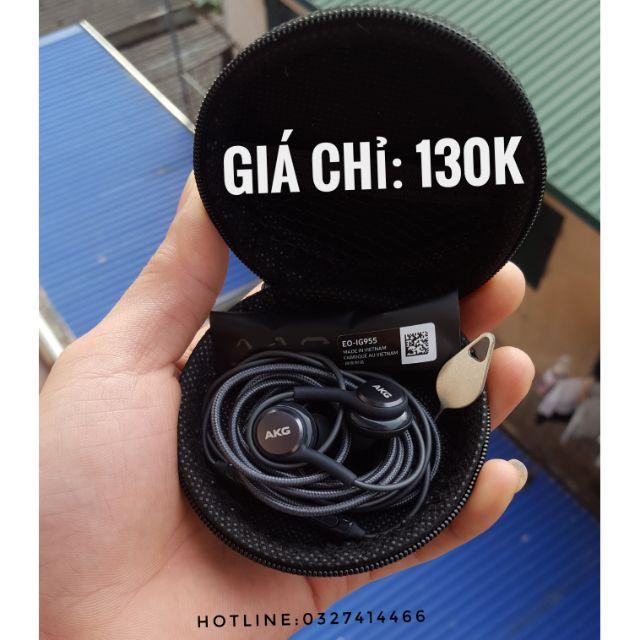 Tai nghe AKG [130K ]chính hãng S8+,Note8 Mới 100%,Tặng Bao Da+ Núm Dự Phòng+Que Sim