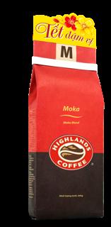 """Cà Phê Rang Xay Moka Highlands Coffee túi 200g giá chỉ còn <strong class=""""price"""">5.500.000.000đ</strong>"""