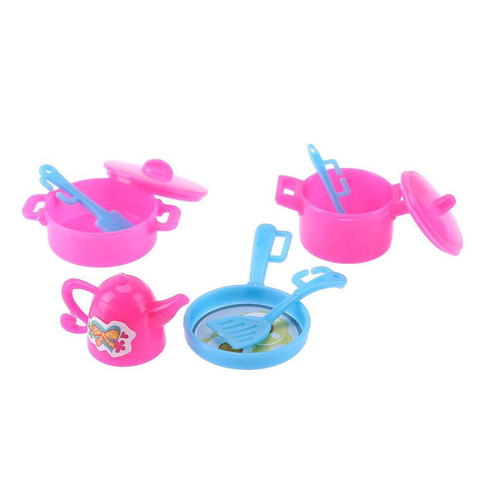 【 LOVE Baby 】 ชุดของเล่นสำหรับตุ๊กตาบาร์บี้ 7 ชิ้น