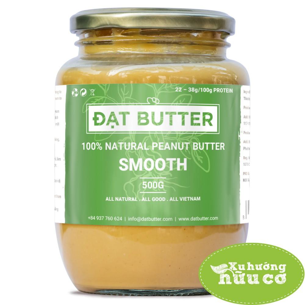[FREESHIP TỪ 99K] Bơ đậu phộng nguyên chất xay mịn - 100% Natural Peanut Butter Smooth (500g) - 3043566 , 1152631926 , 322_1152631926 , 210000 , FREESHIP-TU-99K-Bo-dau-phong-nguyen-chat-xay-min-100Phan-Tram-Natural-Peanut-Butter-Smooth-500g-322_1152631926 , shopee.vn , [FREESHIP TỪ 99K] Bơ đậu phộng nguyên chất xay mịn - 100% Natural Peanut Butter S