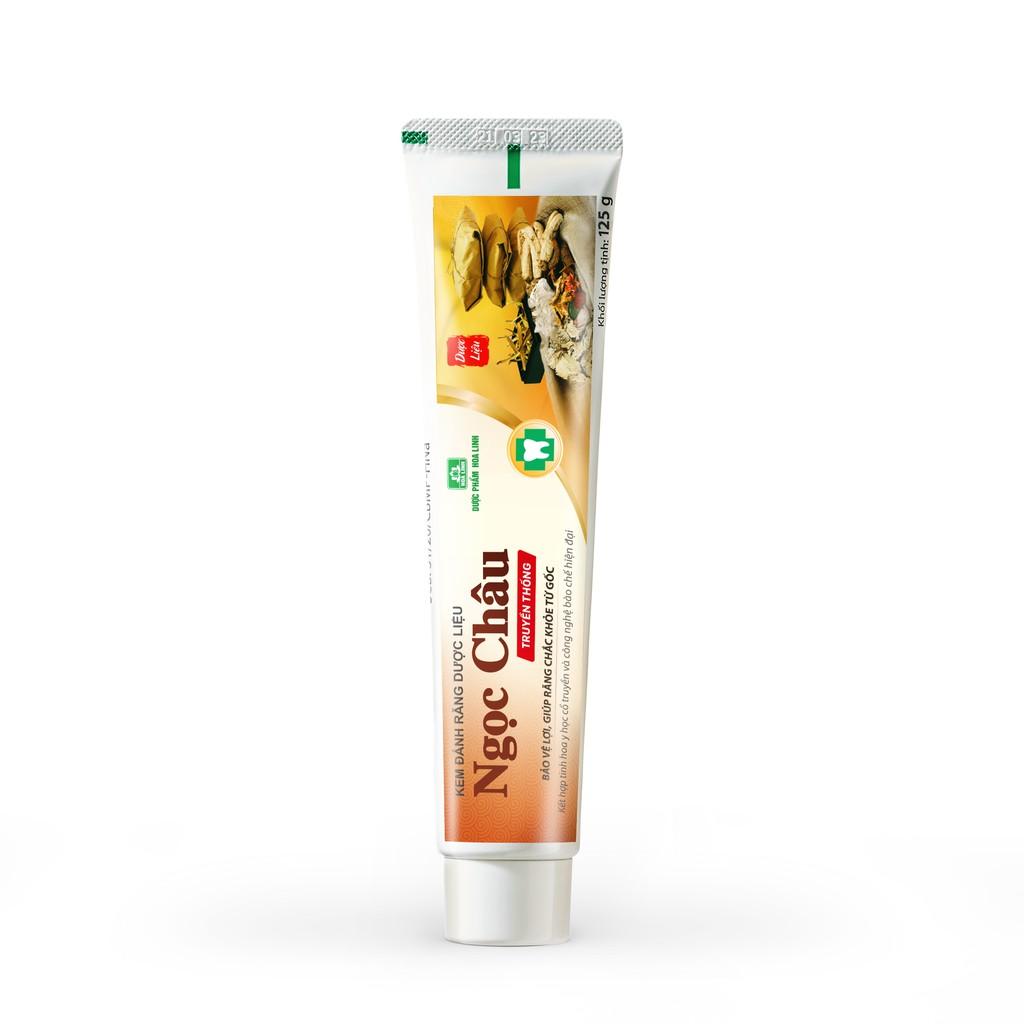 Kem đánh răng dược liệu Ngọc Châu 125g