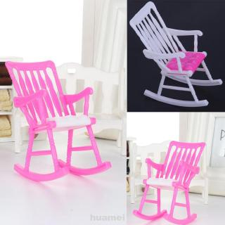 Furniture Play Plastic Gift Decoration Accessories Rocking Doll Chair