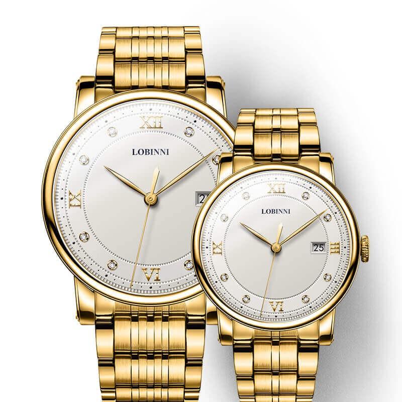Đồng hồ đôi Lobinni No.1651-3