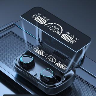 Tai nghe bluetooth M10, tai nghe không dây cảm ứng với màn hình hộp sạc hiển thị pin thông minh, âm thanh HiFi siêu bass