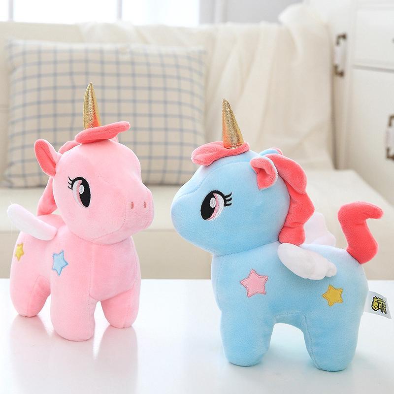 Unicorn Doll Plush Toy Appease Sleeping Pillow