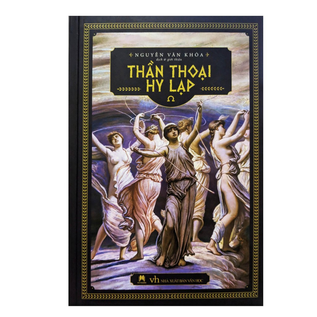 Sách - Thần Thoại Hy Lạp (HuyHoangBooks) Gigabook