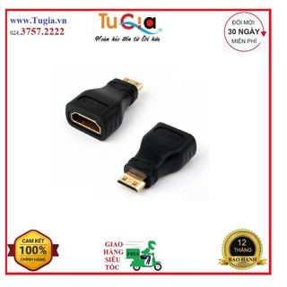 [Mã ELORDER5 giảm 10K đơn 20K] Đầu chuyển đổi Mini HDMI ra HDMI Vention H380HDC - Hàng Chính Hãng
