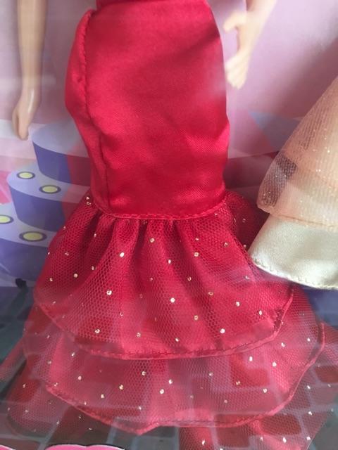Set búp bê dạ hội cao cấp Cutie Doll- ảnh thật
