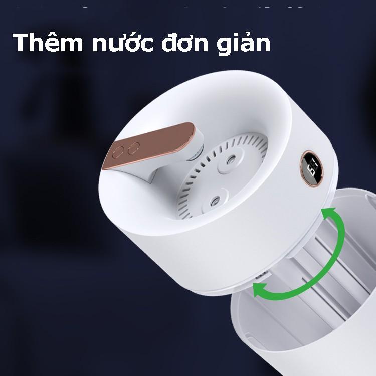 Máy tạo độ ẩm không khí Humidifier tích hợp ẩm kế dung tích 3 lít công suất 180ml/h - X12