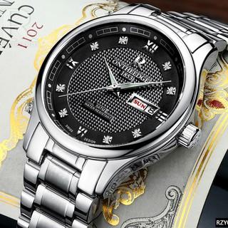 Đồng hồ nam ONTHEEDGE RZY025 dây thép không gỉ thumbnail