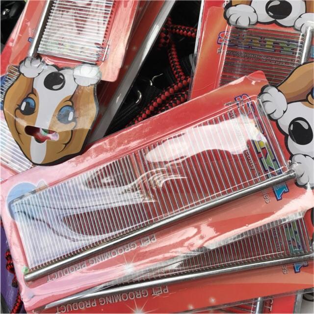 Lược inox 2 đầu chải lông giúp gỡ rối rụng lông chó mèo và thú cưng - 2898190 , 224637121 , 322_224637121 , 45000 , Luoc-inox-2-dau-chai-long-giup-go-roi-rung-long-cho-meo-va-thu-cung-322_224637121 , shopee.vn , Lược inox 2 đầu chải lông giúp gỡ rối rụng lông chó mèo và thú cưng