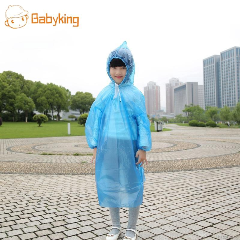 Babyking Children 's Disposable Raincoat ponking