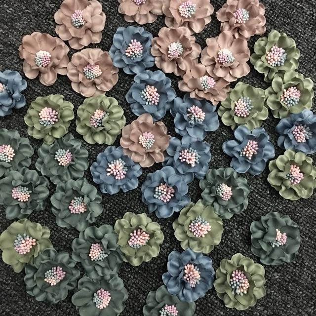 Hoa nhuỵ pha màu 12k/bông.