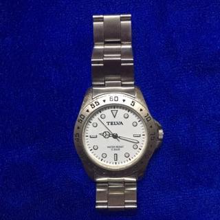 Đồng hồ nam Telva - hàng nội địa nhật secondhand