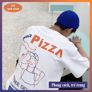"""Áo thun Unisex tay lỡ """"Pizza"""""""