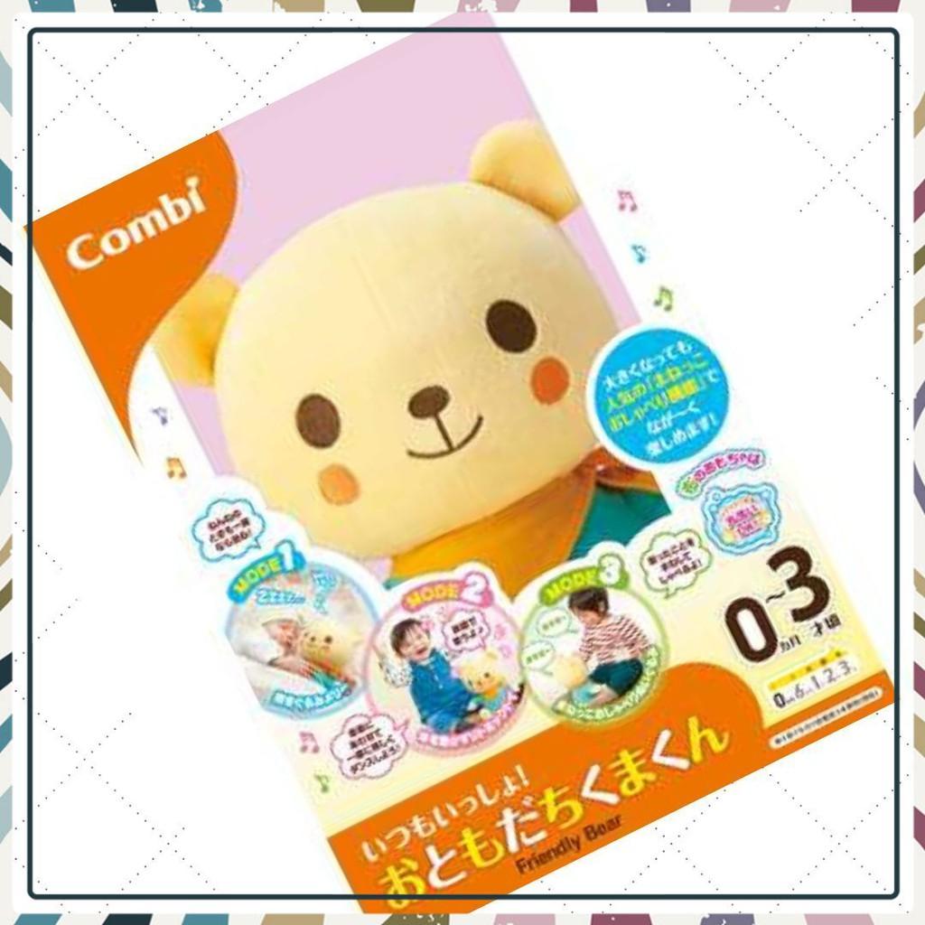 (Bán Chạy)Gấu bông thân thiện - Đồ chơi cho bé