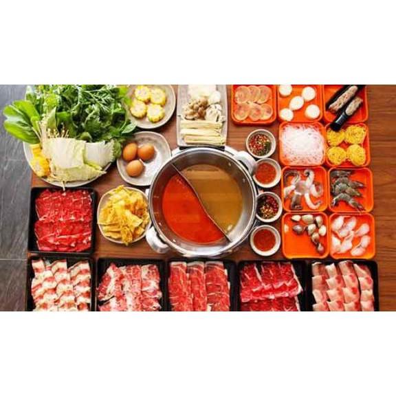Toàn Quốc [E-Voucher] Buffet Tinh Hoa Lẩu Thái - Nhật - Hàn - Trung 199k tại Hotpot Story