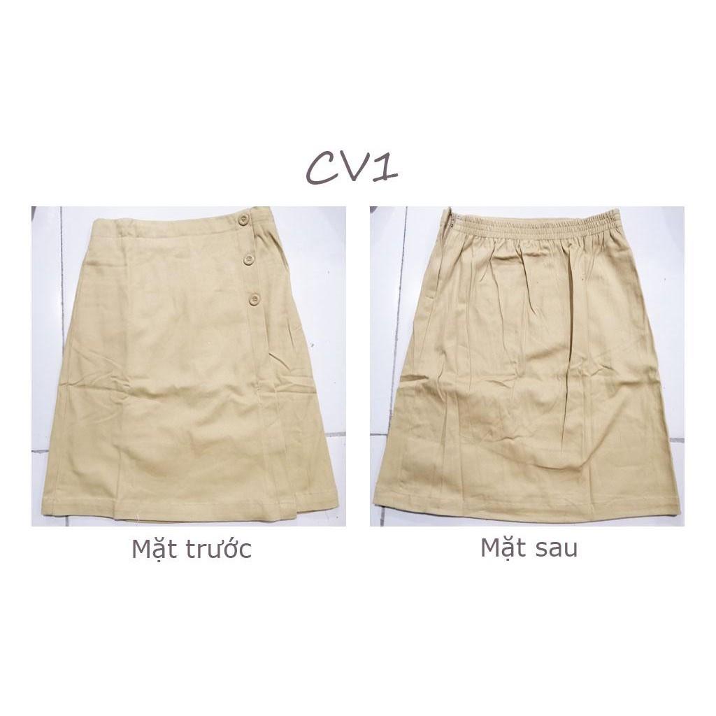 [RẺ VÔ ĐỊCH] Chân váy chữ A, Chân váy Kaki, Đủ Size S, M, L, XL, XXL