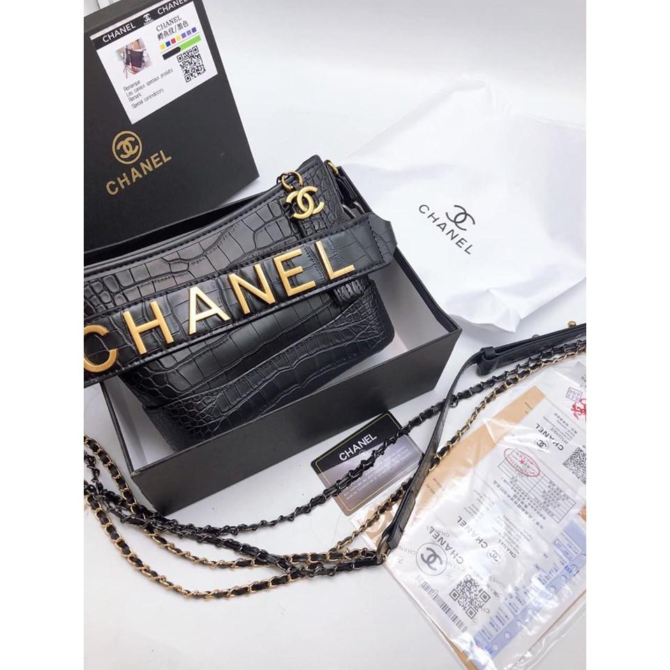 Túi Xách Nữ Hàng Chanel Đồng Đặc Da Rắn cỡ size 22