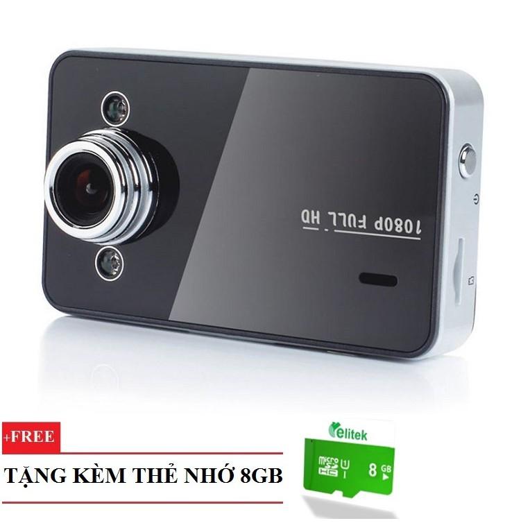Camera Hành Trình Night Vision Car DVR Recorder 2502+ Thẻ Nhớ 8GB