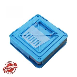 sellmilove 100 Holes Blue Manual Capsule Filling Machine #0 Pharmaceutical Capsules Maker DIY Medicine Herbal Powder Filler
