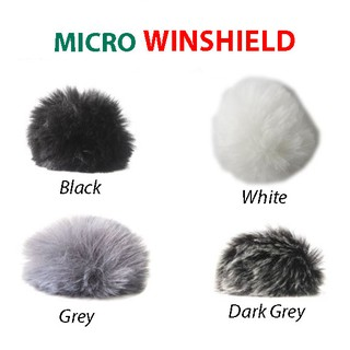 [Mã ELORDER5 giảm 10K đơn 20K] Bông lọc chắn gió - tạp âm lông xù cho micro
