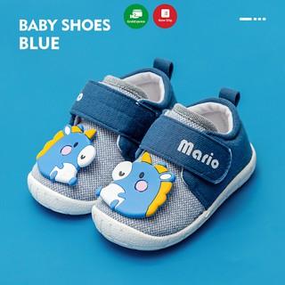 Giày tập đi trẻ em MARIO cho bé trai, bé gái siêu mềm chống trơn trượt chính hãng