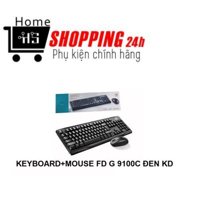 Combo Bàn Phím Chuột Không Dây G9100 [Homeshopping4H]