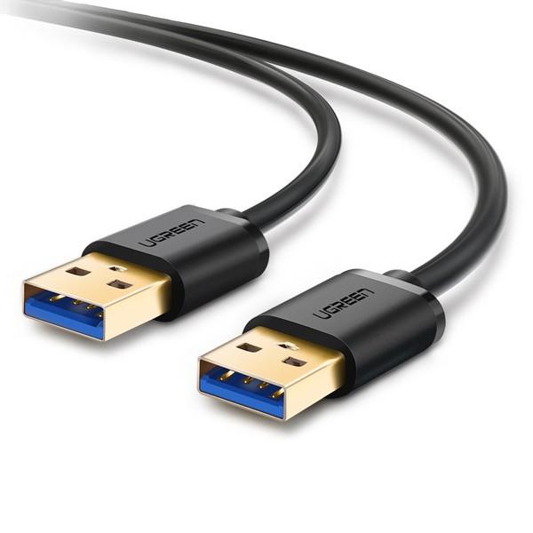 Cáp USB 2 đầu đực 3.0, mạ vàng 0,5M UGREEN 10369