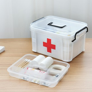 Hộp, tủ đựng thuốc y tế cứu thương dùng trong gia đình KN STORE