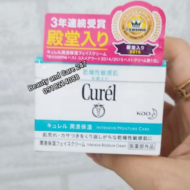 Kem dưỡng da Curel cho da nhạy cảm