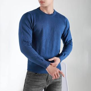 Áo Len Trơn Basic CEFFYLO Bảng 5 Màu Trầm Nam Tính Dễ Dàng Phối Đồ Chất Liệu Tổng Hợp Không Gây Ngứa – POLIDO Store