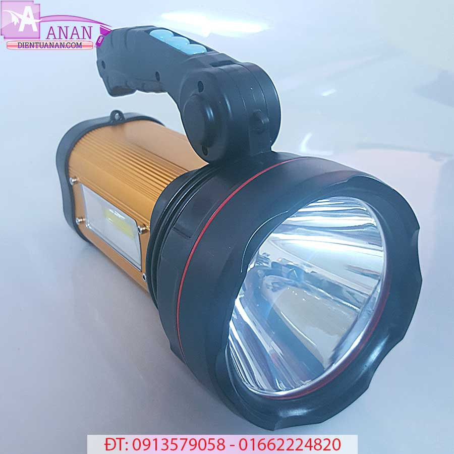 Đèn Pin Pin Trâu XQ99 Dùng 10 Tiếng Chiếu Xa