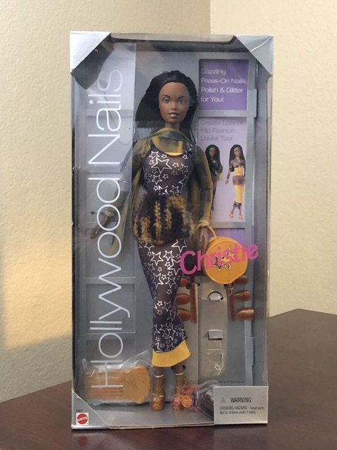 Búp bê barbie Hollywood nails Christie