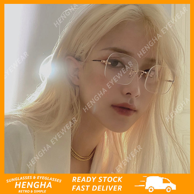 Mắt Kính Chống Bức Xạ Phong Cách Hàn Quốc Thời Trang Nữ Sành Điệu