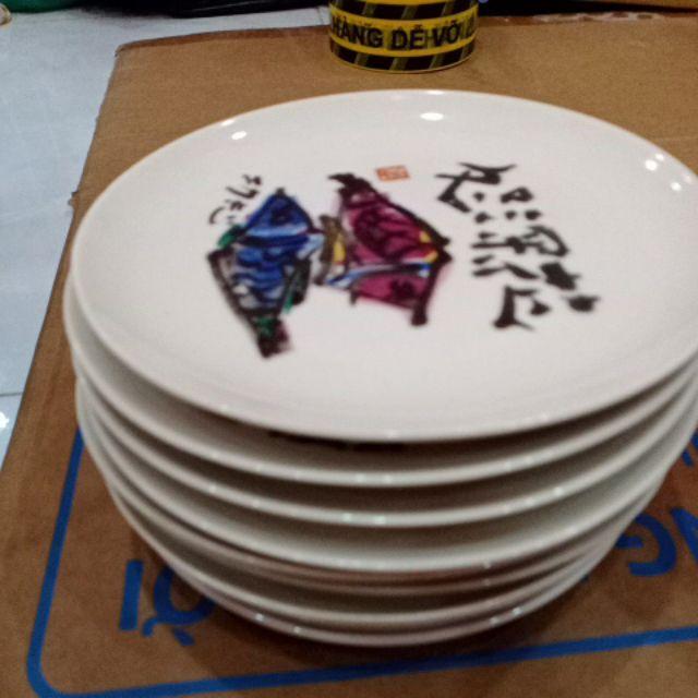 Set dĩa gốm Nhật cao cấp 0.68kg