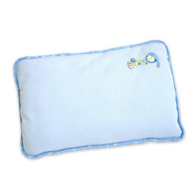 4712879331197 Puku - Gối cotton kháng khuẩn màu xanh 33119