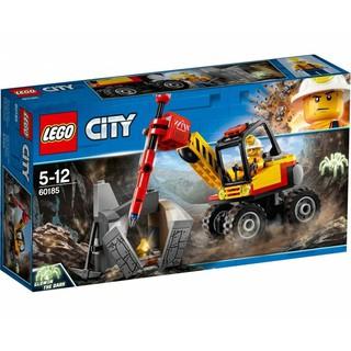 Bộ lắp ráp Máy Đục Đá – LEGO City 60185 (127 Chi Tiết)